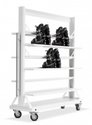 Mobile Boot Rack
